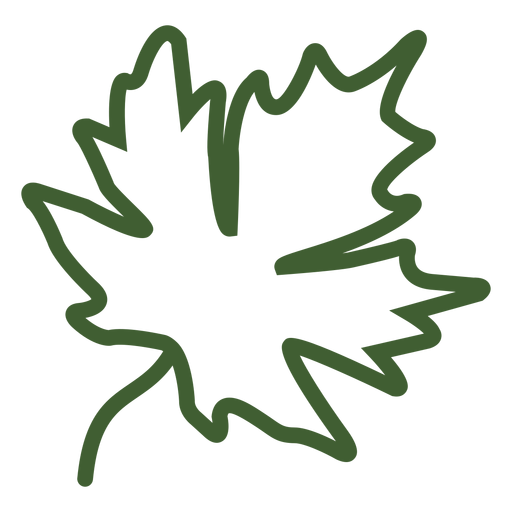Maple leaf autumn icon Transparent PNG