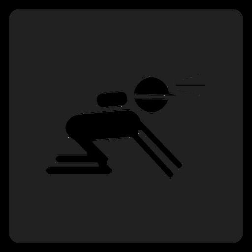 Icono cuadrado de minero Transparent PNG