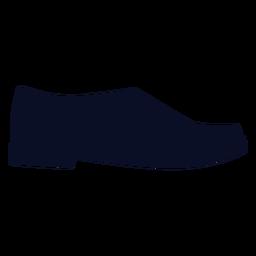 Silhueta de sapatos de monges