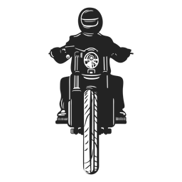 Icono de piloto de motos.
