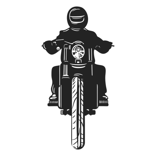 Icono de piloto de motos. Transparent PNG