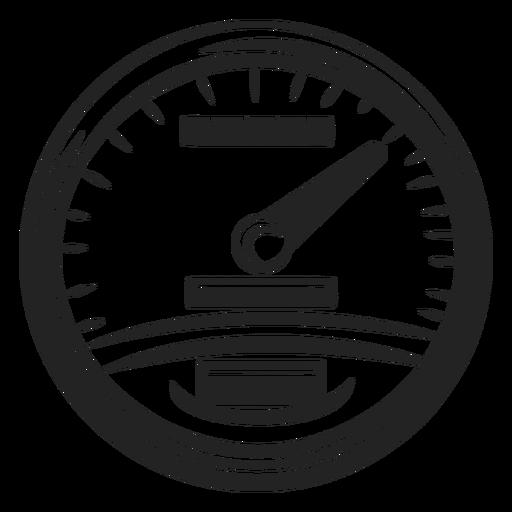 Icono de velocímetro de moto Transparent PNG