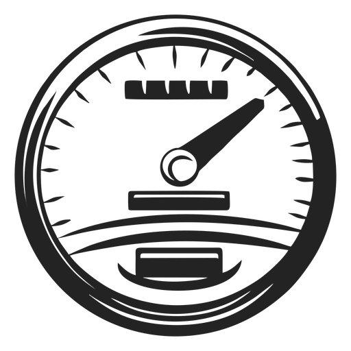 Motorbike speedometer icon Transparent PNG