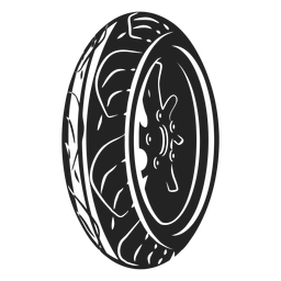 Ícone de roda de moto