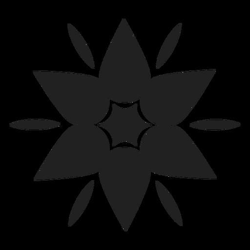 Ícone de flor de montanha Transparent PNG