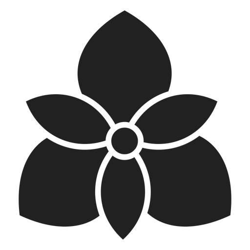 Orchid flower icon Transparent PNG