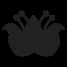 Oriental flower icon