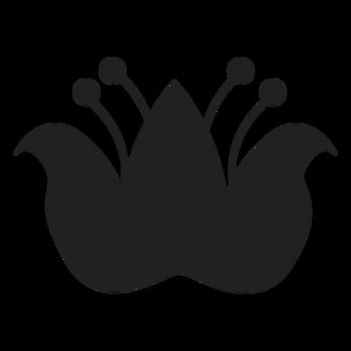 Icono de flor oriental Transparent PNG