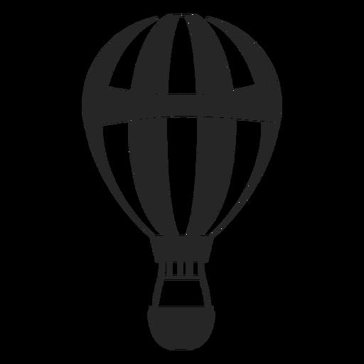 Silhueta de balão de ar quente padronizada Transparent PNG