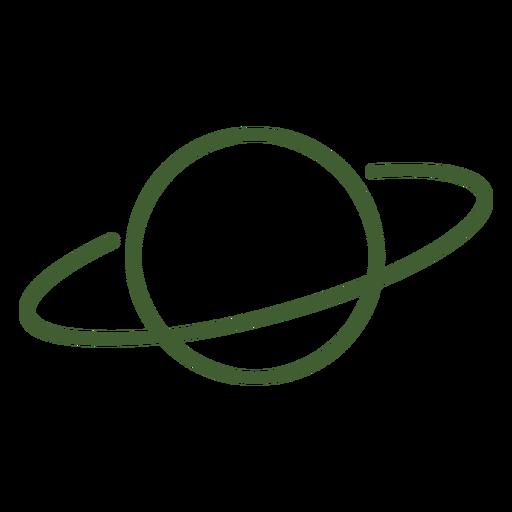 Ícone do planeta Saturno Transparent PNG