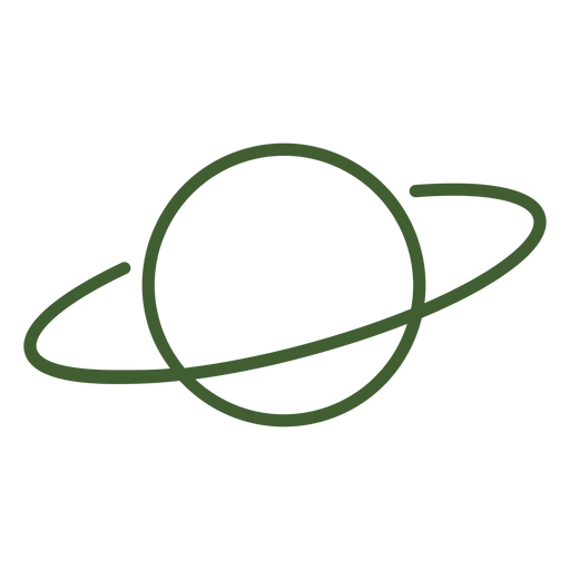 Planet saturn icon Transparent PNG