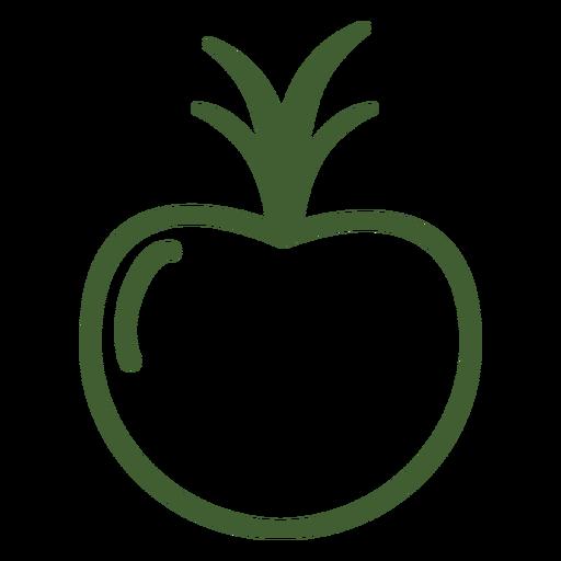 Icono de fruta de granada Transparent PNG