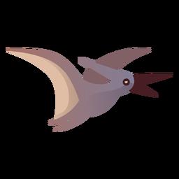 Pterodaktylus-Karikaturvektor