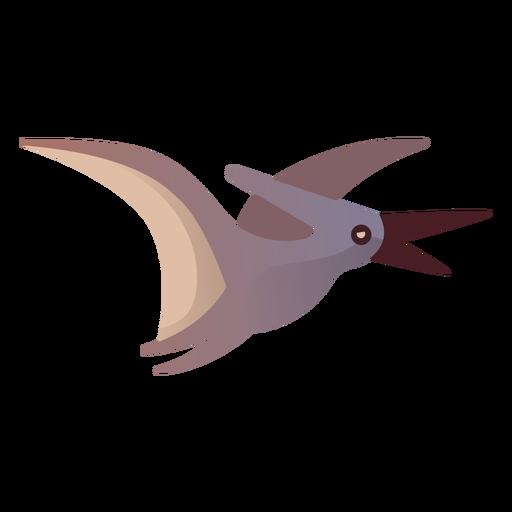 Pterodactyl cartoon vector Transparent PNG