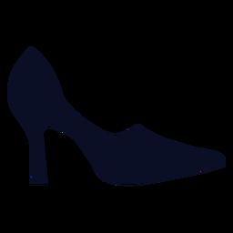 Bombas zapatos silueta