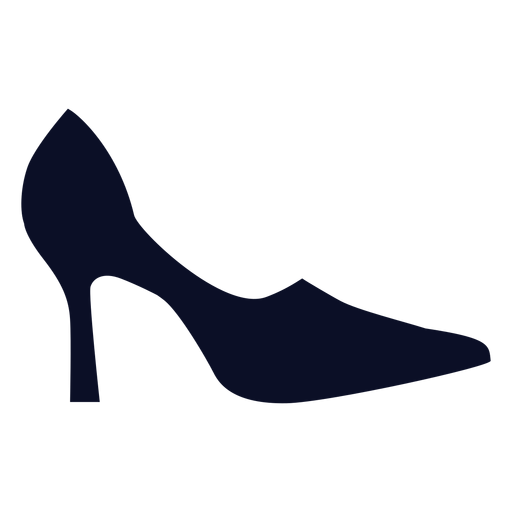 Pumps shoes silhouette Transparent PNG