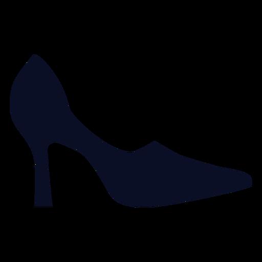 Silhueta de sapatos de bombas Transparent PNG