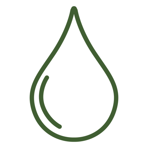 Regen-Drop-Symbol Transparent PNG