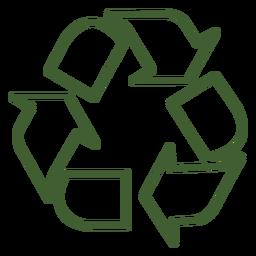 Ícone de reciclagem