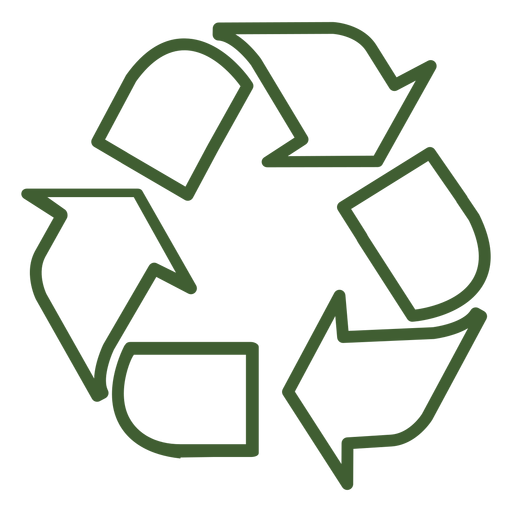 Recycle icon Transparent PNG