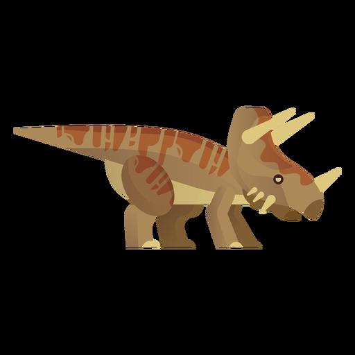 Vetor de dinossauro rinoceronte Transparent PNG