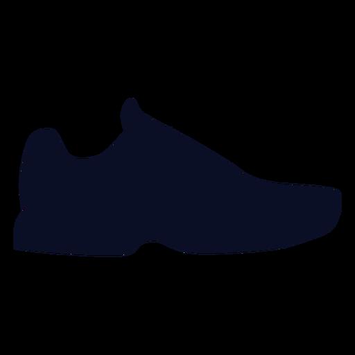 Rubber shoes silhouette Transparent PNG