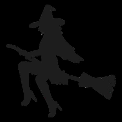 Silueta de bruja sexy Transparent PNG