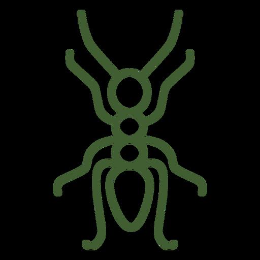 Ícone formiga simples Transparent PNG