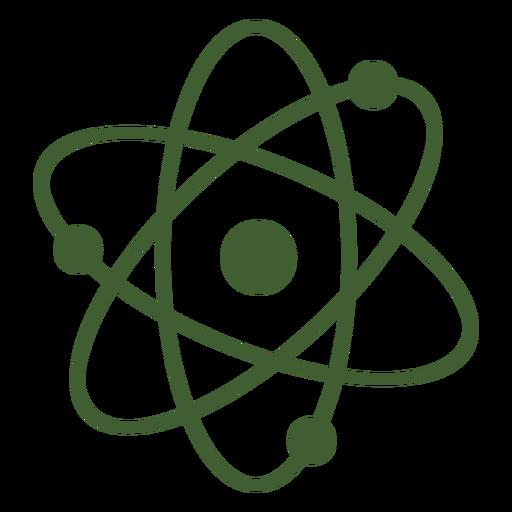 Ícone simples átomo Transparent PNG