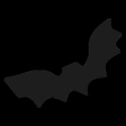 Simple bat mammal silhouette