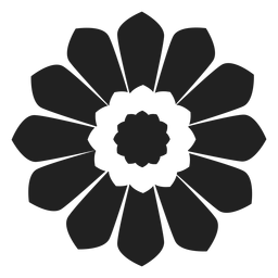 Simple daisy icon