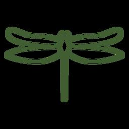Ícone de libélula simples