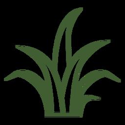Einfaches Gras-Symbol