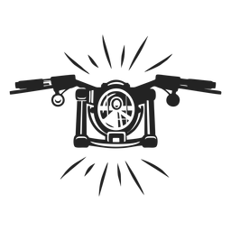 Simple motorbike icon