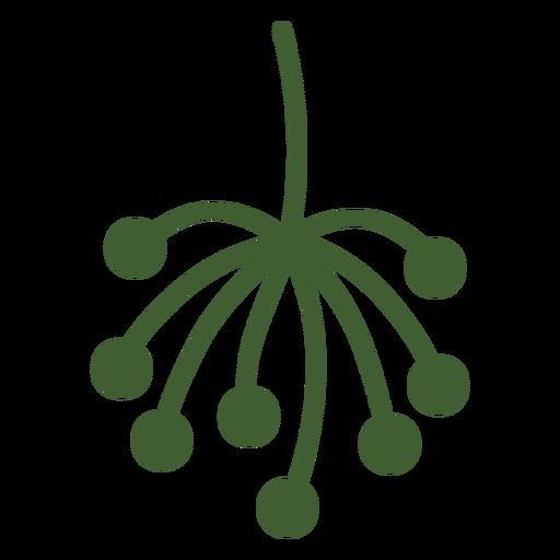 Ícono de punta de planta simple Transparent PNG
