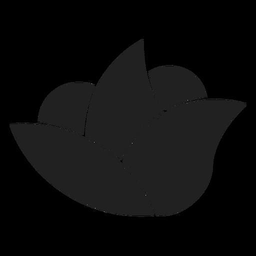 Icono de flor de spa simple Transparent PNG