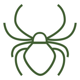 Simple spider icon