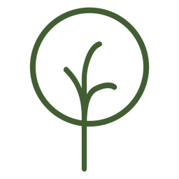 Simple tree icon