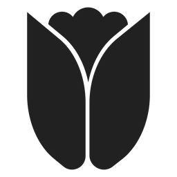 Vector de tulipán simple