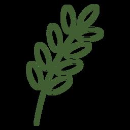 Einfaches Weizen-Symbol