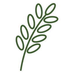 Icono de trigo simple
