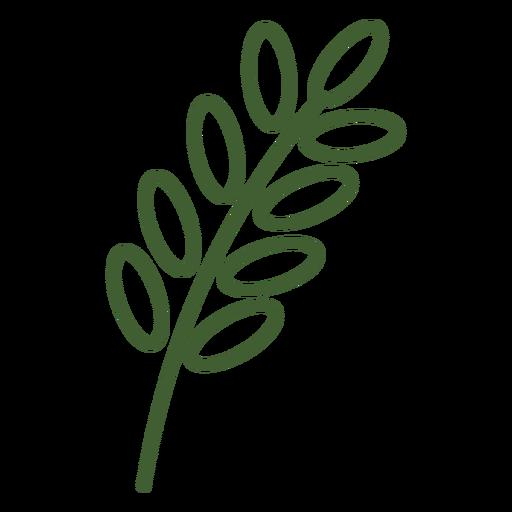 Ícone de trigo simples Transparent PNG