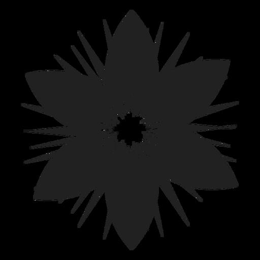 Six petals flower icon