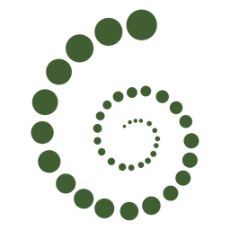 Spiral molecules icon