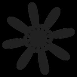Icono de flor de primavera