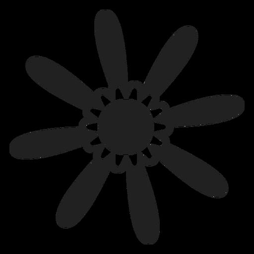 Icono de flor de primavera Transparent PNG