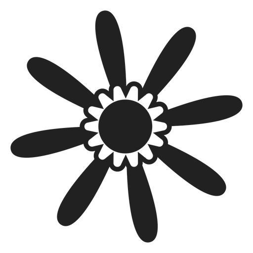 Spring flower icon Transparent PNG
