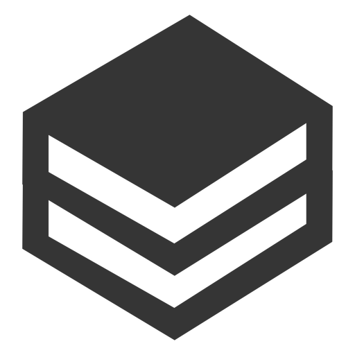 Stacked books icon Transparent PNG