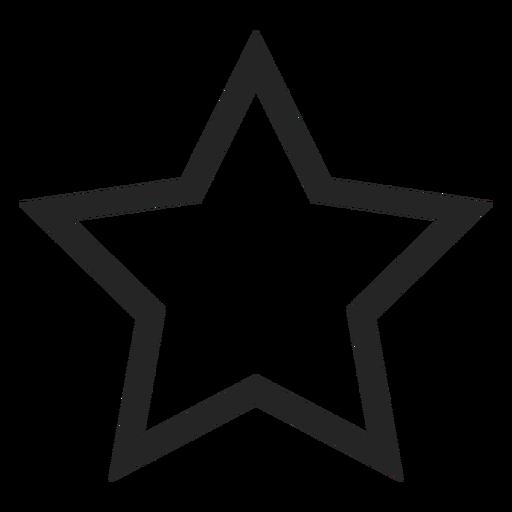 Ícone bonito estrela Transparent PNG