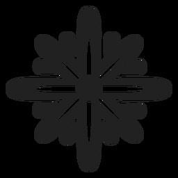 Vector de flor estrella